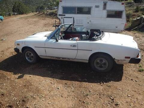 1979 FIAT 124 Spider for sale at Classic Car Deals in Cadillac MI