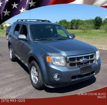 2010 Ford Escape for sale at Senor Coche Auto Sales in Las Cruces NM