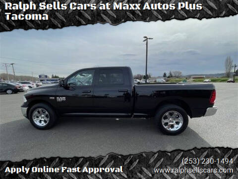 2020 RAM Ram Pickup 1500 Classic for sale at Ralph Sells Cars at Maxx Autos Plus Tacoma in Tacoma WA