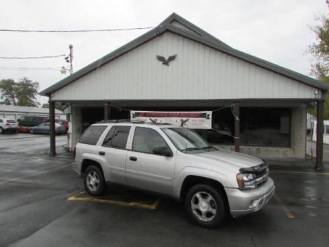 2007 Chevrolet TrailBlazer for sale at Eagle Auto Center in Seneca Falls NY