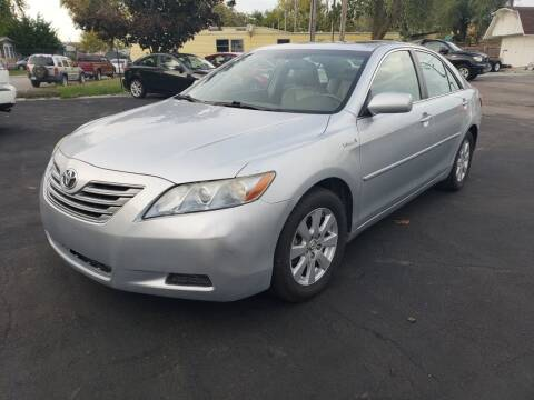 2007 Toyota Camry Hybrid for sale at Nonstop Motors in Indianapolis IN