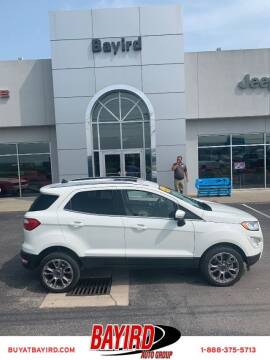 2019 Ford EcoSport for sale at Bayird Truck Center in Paragould AR