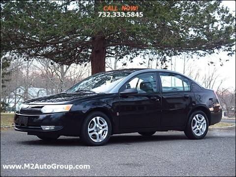 2003 Saturn Ion for sale at M2 Auto Group Llc. EAST BRUNSWICK in East Brunswick NJ