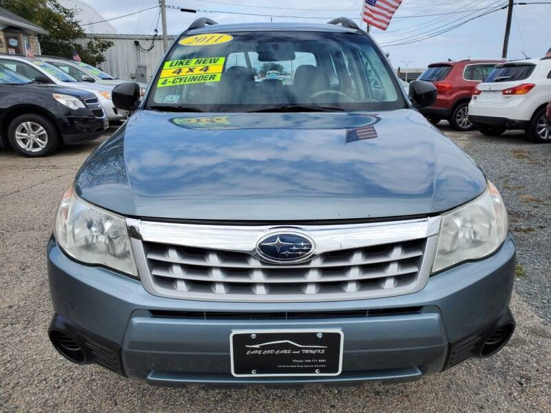 2011 Subaru Forester for sale at Cape Cod Cars & Trucks in Hyannis MA