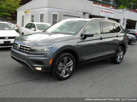 2019 Volkswagen Tiguan for sale at Mair's Continental Motors in Reading PA