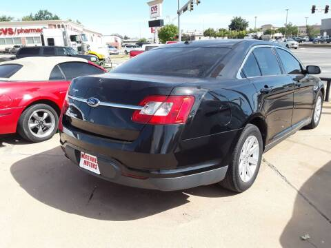 2010 Ford Taurus for sale at NORTHWEST MOTORS in Enid OK