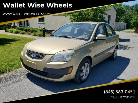 2009 Kia Rio for sale at Wallet Wise Wheels in Montgomery NY
