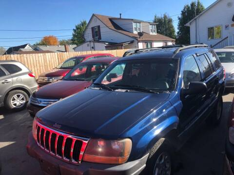 2001 Jeep Grand Cherokee for sale at Marti Motors Inc in Madison IL