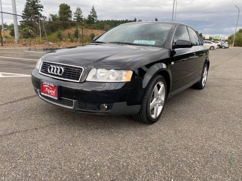 2003 Audi A4 for sale at Apex Motors Inc. in Tacoma WA