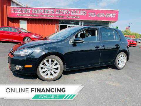 2011 Volkswagen Golf for sale at LUXURY IMPORTS AUTO SALES INC in North Branch MN