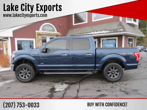 2016 Ford F-150 for sale at Lake City Exports in Auburn ME