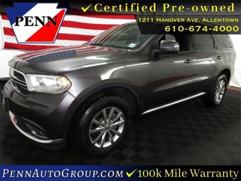 2017 Dodge Durango for sale at STAR AUTO MALL 512 in Bethlehem PA
