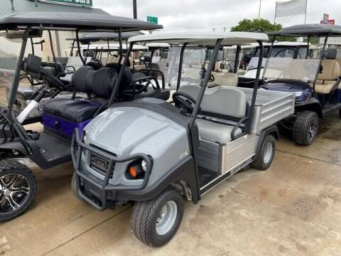 2021 Club Car Carryall 500 Electric Utility for sale at METRO GOLF CARS INC in Fort Worth TX