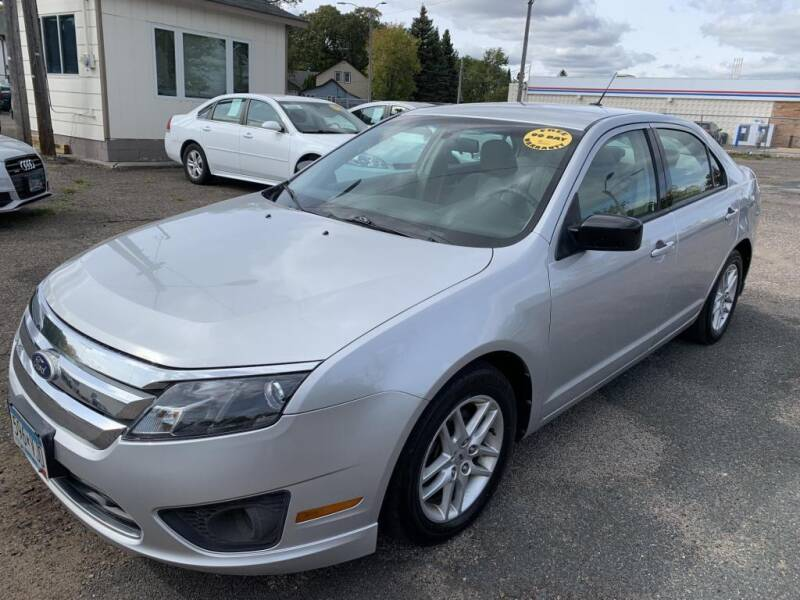 2010 Ford Fusion for sale at CHRISTIAN AUTO SALES in Anoka MN