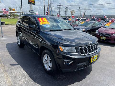 2014 Jeep Grand Cherokee for sale at Texas 1 Auto Finance in Kemah TX