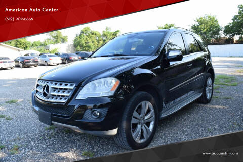 2010 Mercedes-Benz M-Class for sale at American Auto Center in Austin TX