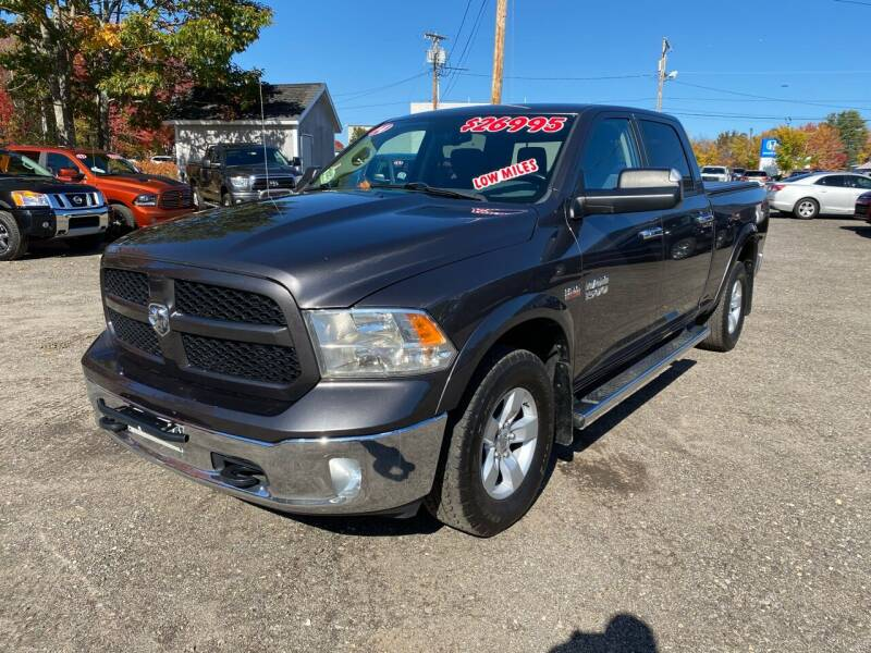 2014 RAM Ram Pickup 1500 for sale at AutoMile Motors in Saco ME