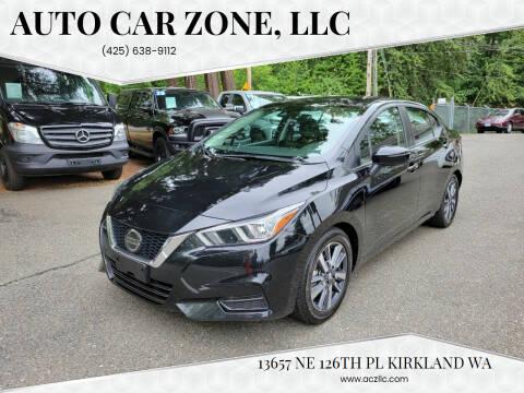 2020 Nissan Versa for sale at Auto Car Zone, LLC in Kirkland WA