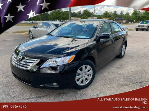 2007 Toyota Camry for sale at All Star Auto Sales of Raleigh Inc. in Raleigh NC