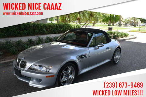 2000 BMW Z3 for sale at WICKED NICE CAAAZ in Cape Coral FL