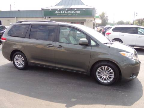 2012 Toyota Sienna for sale at Jim O'Connor Select Auto in Oconomowoc WI