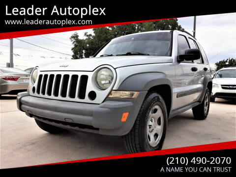 2005 Jeep Liberty for sale at Leader Autoplex in San Antonio TX