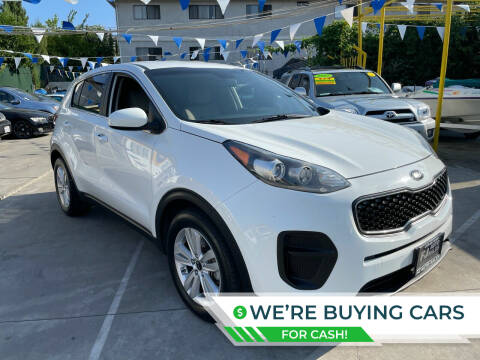 2017 Kia Sportage for sale at Good Vibes Auto Sales in North Hollywood CA