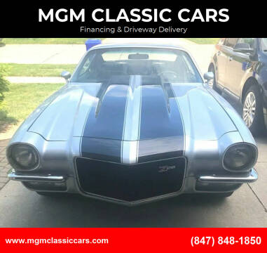 1970 Chevrolet Camaro for sale at MGM CLASSIC CARS in Addison IL