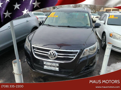 2011 Volkswagen Tiguan for sale at MAUS MOTORS in Hazel Crest IL