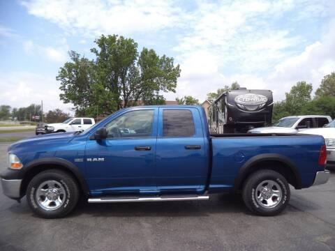 2010 Dodge Ram Pickup 1500 for sale at Hawkins Motors Sales - Lot 1 in Hillside MI