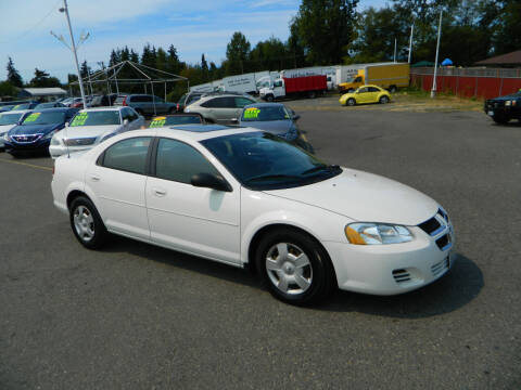 2005 Dodge Stratus for sale at J & R Motorsports in Lynnwood WA