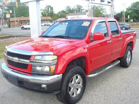 2012 Chevrolet Colorado for sale at Uniworld Auto Sales LLC. in Greensboro NC