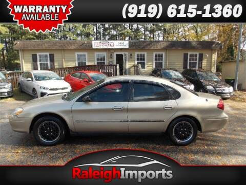 2001 Ford Taurus for sale at Raleigh Imports in Raleigh NC