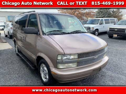 2004 Chevrolet Astro for sale at Chicago Auto Network in Mokena IL