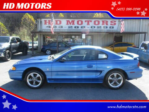 1994 Ford Mustang for sale at HD MOTORS in Kingsport TN
