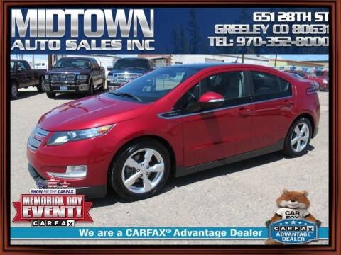 2012 Chevrolet Volt for sale at MIDTOWN AUTO SALES INC in Greeley CO