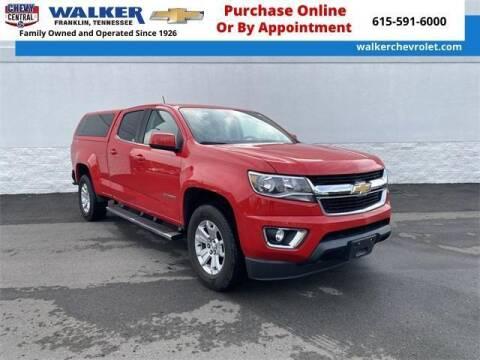 2017 Chevrolet Colorado for sale at WALKER CHEVROLET in Franklin TN