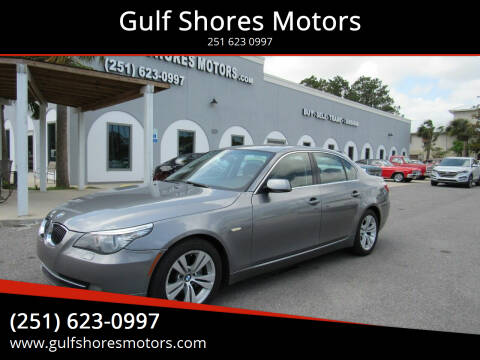 2009 BMW 5 Series for sale at Gulf Shores Motors in Gulf Shores AL