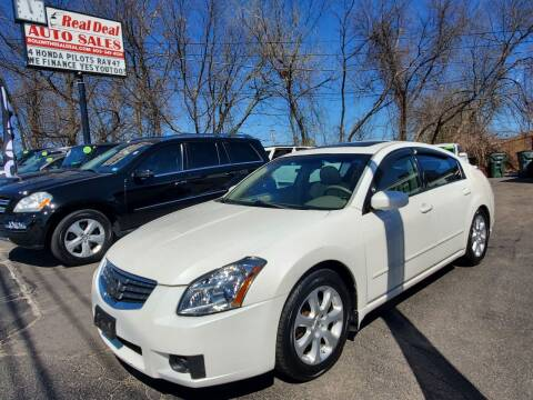 2008 Nissan Maxima for sale at Real Deal Auto Sales in Manchester NH