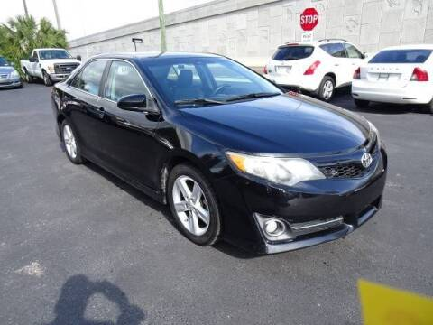 2012 Toyota Camry for sale at DONNY MILLS AUTO SALES in Largo FL