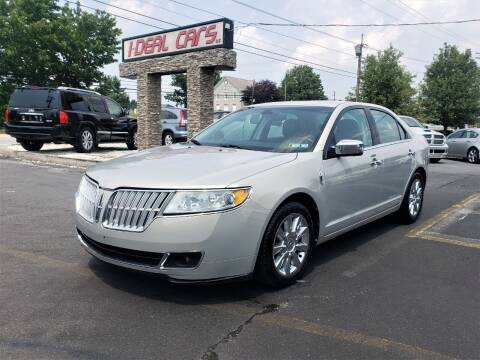 2010 Lincoln MKZ for sale at I-DEAL CARS in Camp Hill PA
