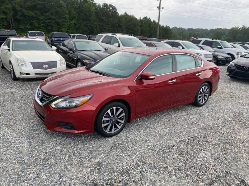 2017 Nissan Altima for sale at Billy Ballew Motorsports in Dawsonville GA