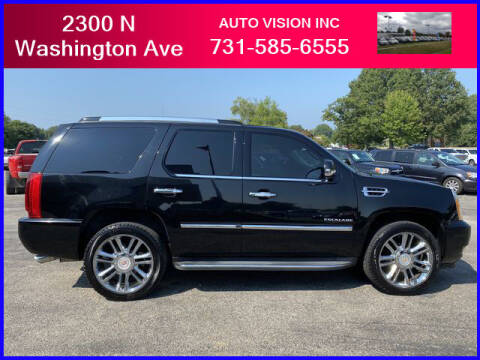 2013 Cadillac Escalade for sale at Auto Vision Inc. in Brownsville TN