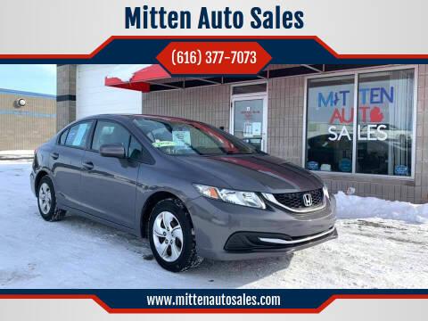 2014 Honda Civic for sale at Mitten Auto Sales in Holland MI