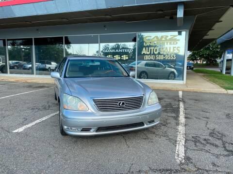 2004 Lexus LS 430 for sale at Carz Unlimited in Richmond VA
