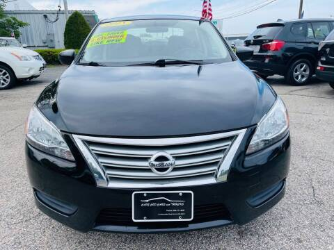 2015 Nissan Sentra for sale at Cape Cod Cars & Trucks in Hyannis MA