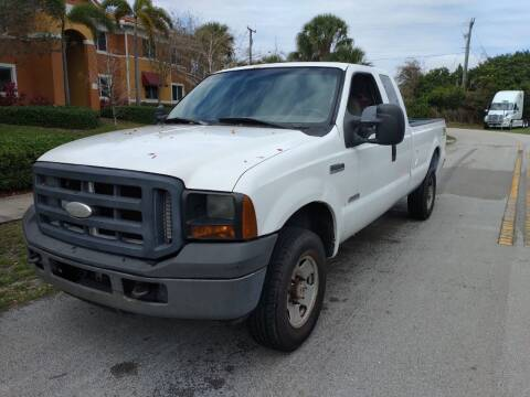 2006 Ford F-250 Super Duty for sale at LAND & SEA BROKERS INC in Deerfield FL