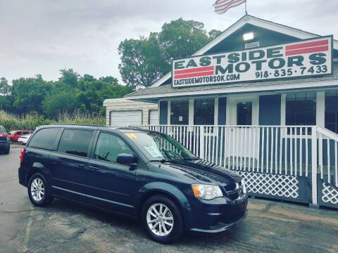 2014 Dodge Grand Caravan for sale at EASTSIDE MOTORS in Tulsa OK