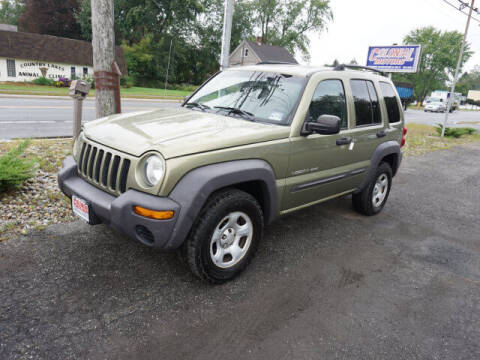 2003 Jeep Liberty for sale at Colonial Motors in Mine Hill NJ
