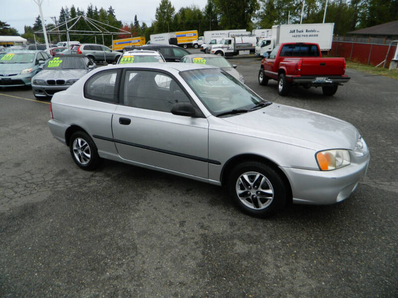 2000 Hyundai Accent for sale at J & R Motorsports in Lynnwood WA